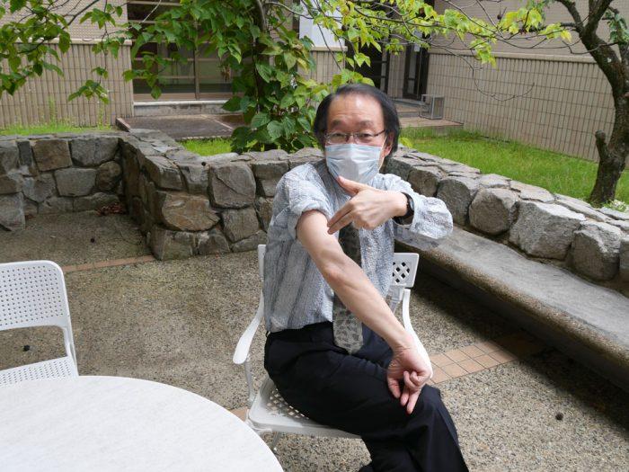 所長ワクチン写真